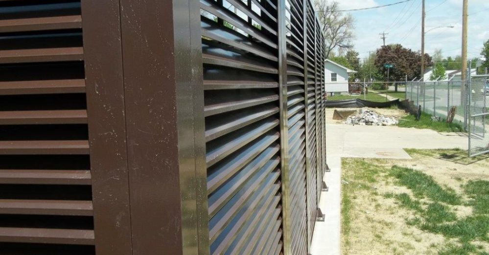 PalmSHIELD Louvers. Positive air flow yet limited visibility.