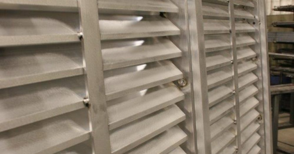 PalmSHIELD Louvers. Engineered louver system.
