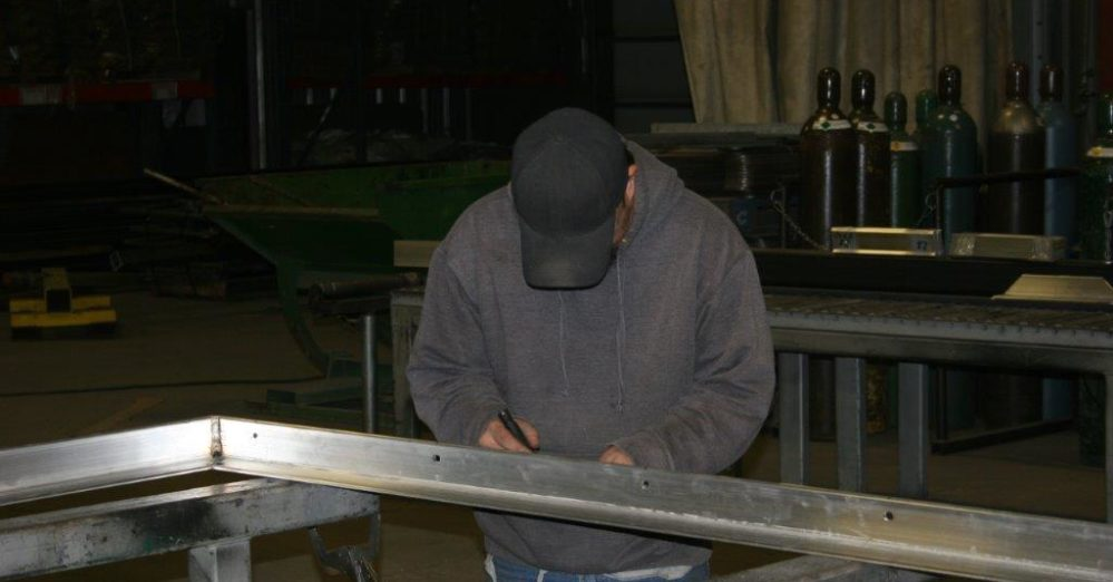 PalmSHIELD Louvers Fabrication. Precision controls in the fabrication process.
