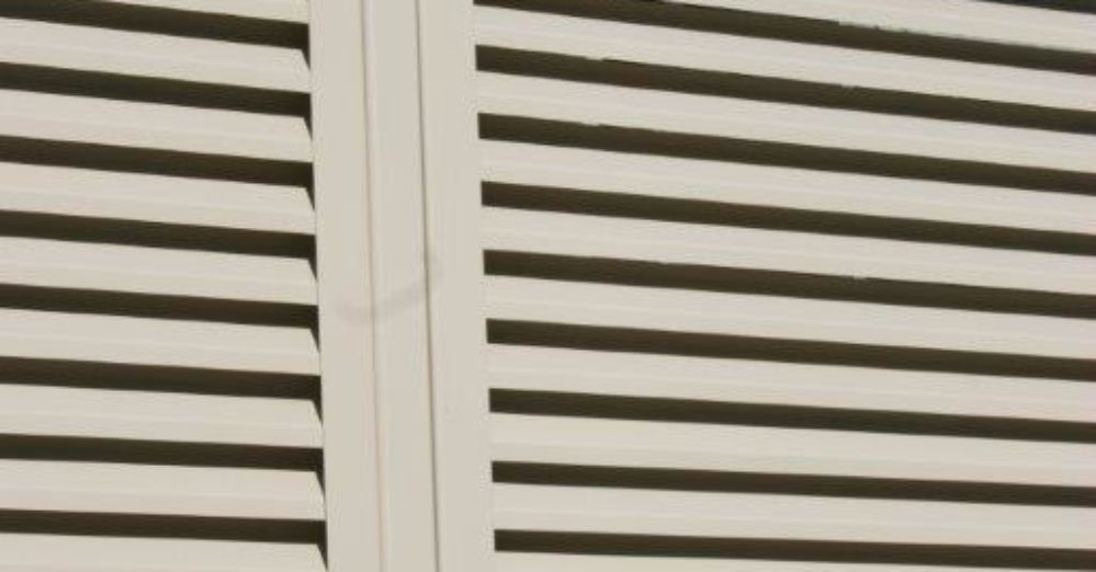 PalmSHIELD Louvers. Positive air flow and limited visibility. A great louvered equipment enclosure.