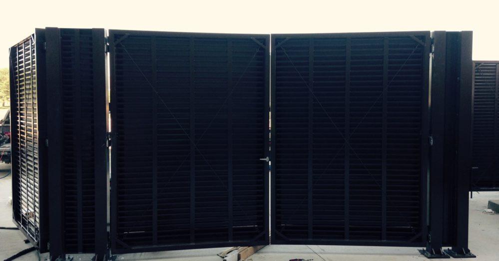Architectural mechanical equipment screen
