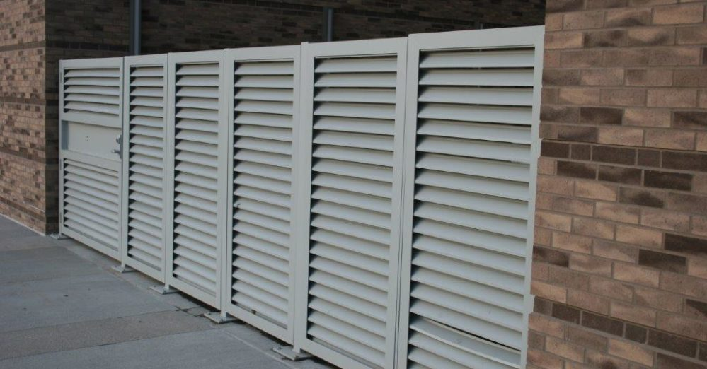 PalmSHIELD Louvers. The perfect traffic control solution.