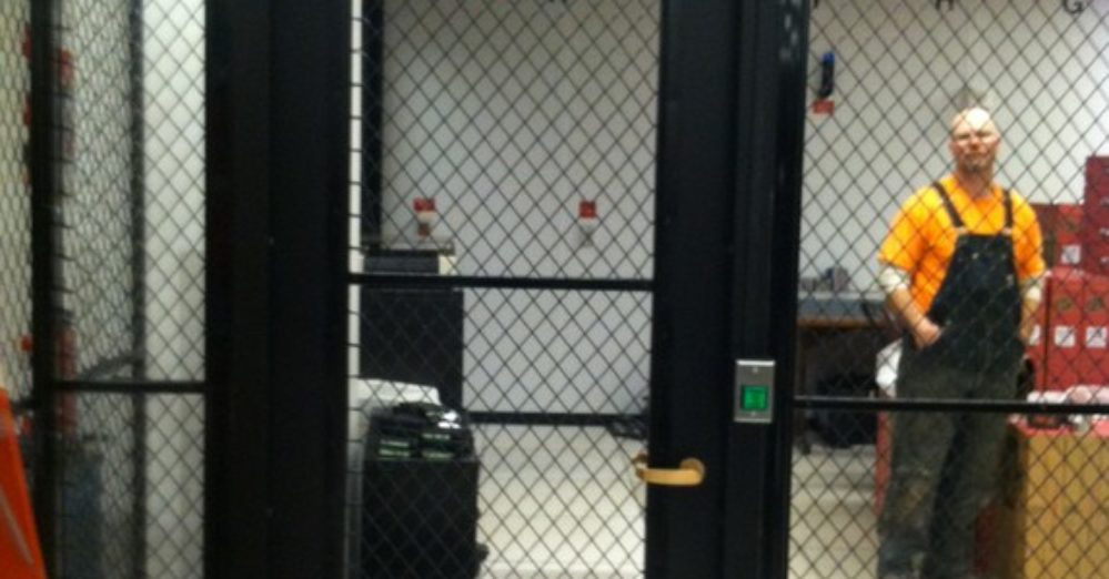 security wire partitions