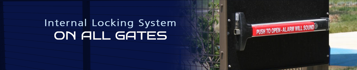 Palmshield Internal Gate Locking System