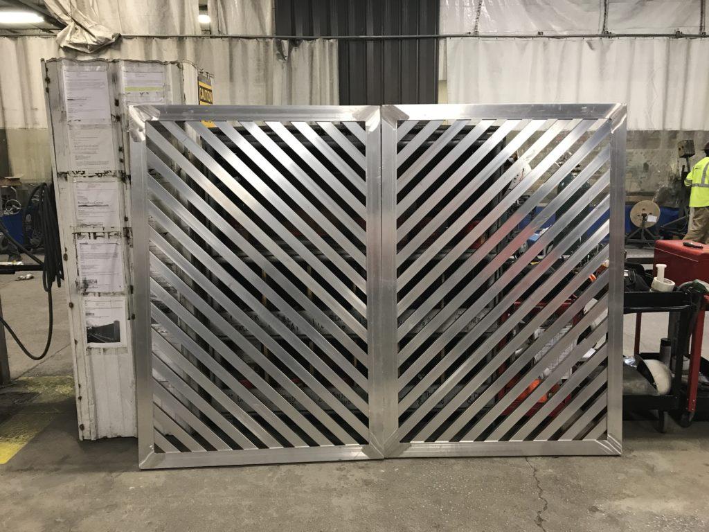 architectural mechanical equipment screening
