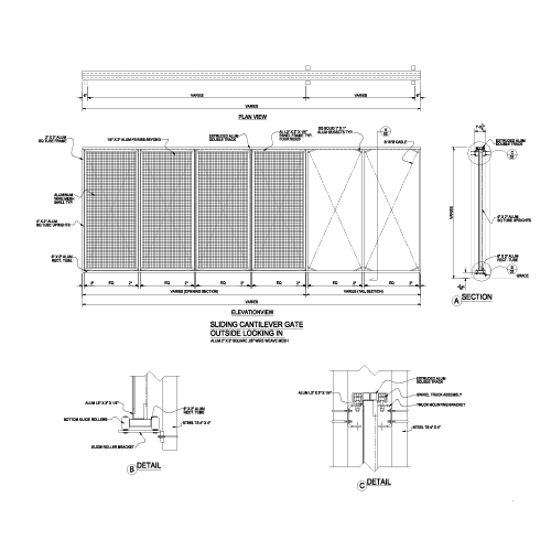 Dante Wire Mesh Cad Drawings Palmshield Architectural
