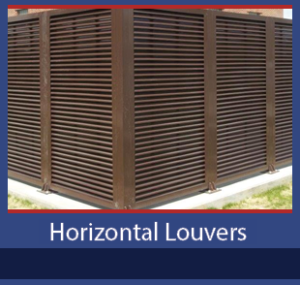 Horizontal Louvers