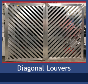 PalmSHIELD Diagonal Louvers