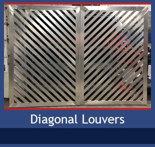 PalmSHIELD Diagonal Louvers