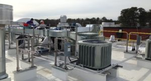 Roof top heating and cooling equipment