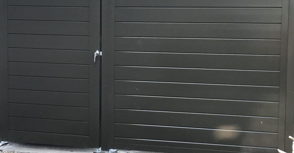PalmSHIELD - Solid aluminum enclosure architectural screening