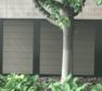 Architectural vinyl solid screening wall