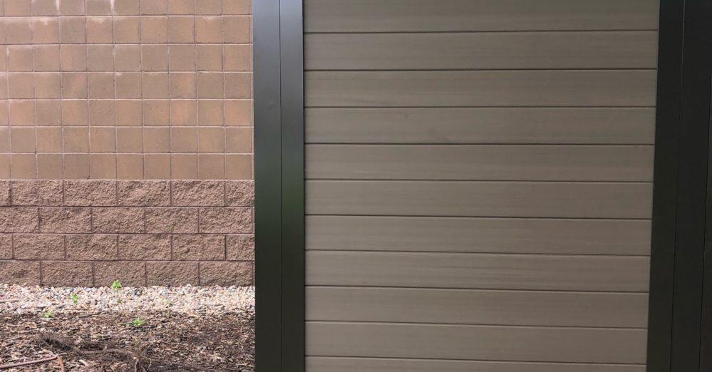 PalmSHIELD - Solid Vinyl Architectural Screening enclosure