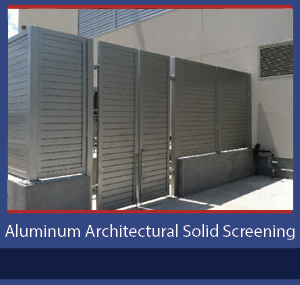 PalmSHIELD Aluminum Architectural Solid Screening
