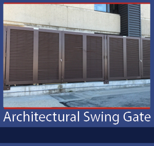 PalmSHIELD Architectural Swing Gate
