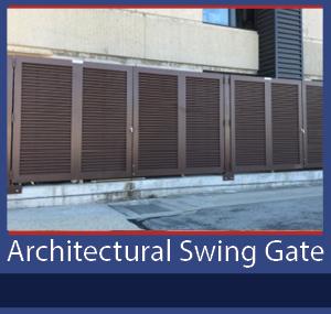 PalmSHIELD Architectural Swing Gate