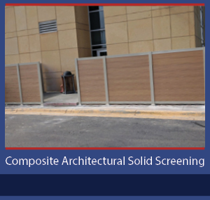 PalmSHIELD Composite Architectural Solid Screening