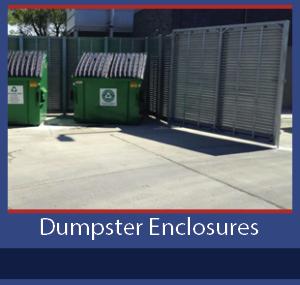 PalmSHIELD Dumpster Enclosures