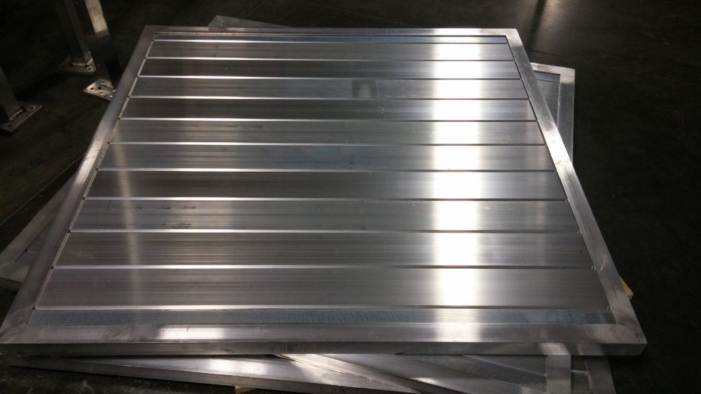 Aluminum solid architectural screening