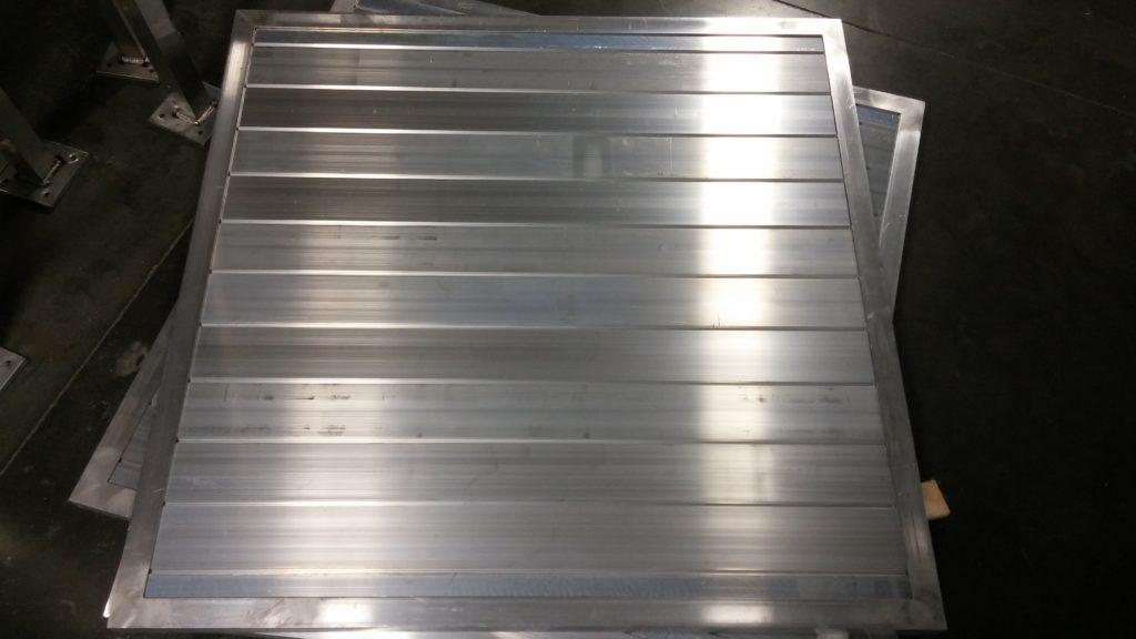 Aluminum architectural screening