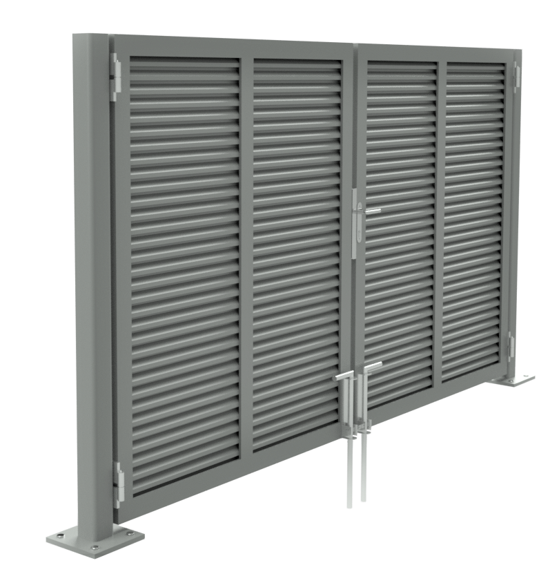 Mini Louver Sampson Swing Gate