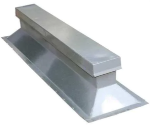 Rooftop rails or pedestals provide an economic option for rooftop equipment screen mounting
