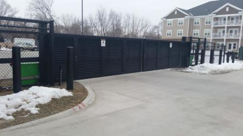 Johnson Public Safety Vehicle Restraint Industrial Cantilever Gates