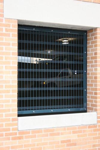 Parking garage infill panels Parking garage separation panels