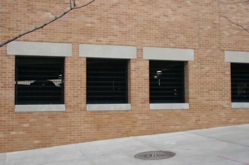 custom architectural garage screen