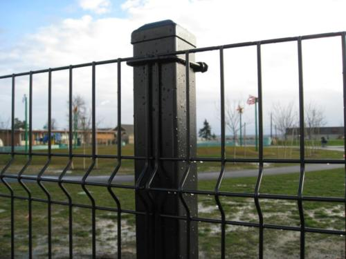 square wire panel fencing