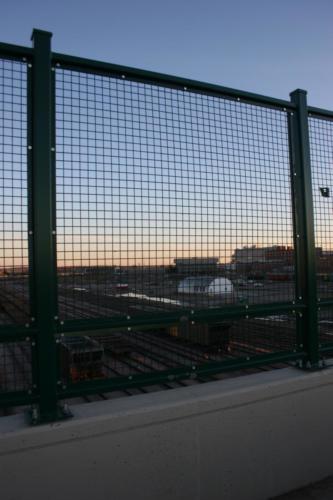 bridge wire mesh panels bridge railings