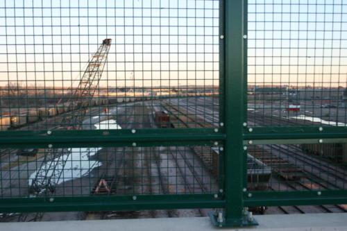 bridge wire mesh bridge railings