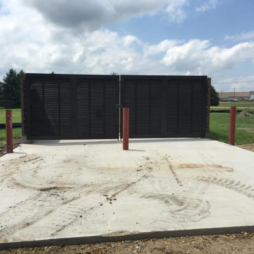 Palmshield Enclosures Owatonna  architectural Mechanical Equipment Screen