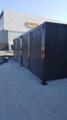 Palmshield Enclosures SDSU Architectural Mechanical Equipment Screen